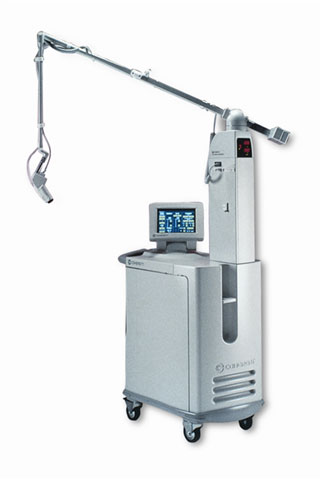 The Coherent UltraPulse 5000c laser systems are used for skin resurfacing, hair restoration and other endoscopic or incisional methods of medical procedures.